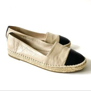 Aldo Leather Espadrille Flats